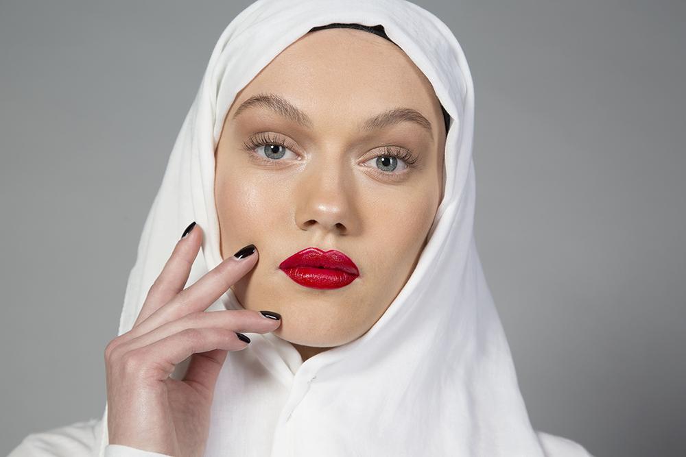 Freya magazine- shoot Modest Headwear 3